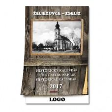 Historický nástenný kalendár 2017 Želiezovce