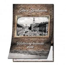 Historický nástenný kalendár 2018 Bratislava