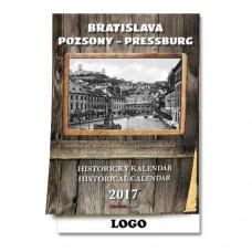 Historický nástenný kalendár 2017 Bratislava