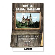 Historický nástenný kalendár 2017 Košice