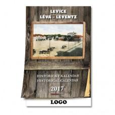 Historický nástenný kalendár 2017 Levice