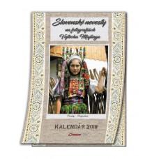 Slovenské nevesty - nástenný kalendár