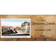 Historický stolový kalendár 2018 Rimavská Sobota